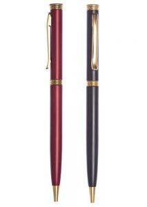 خودکار فلزی تاج رنگی