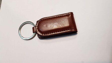 جا کلیدی چرمی دکمه دار